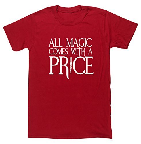 hippowarehouse-all-magic-comes-with-a-price-unisex-short-sleeve-t-shirt
