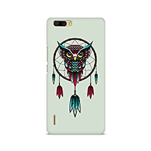Mobicture Owl Premium Printed Case For Huawei Honor 6 Plus