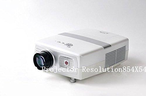 Projecteur lED resolution854 gOWE x 540 2000 lumens 9 00:1 4:3 et 16:9 20000 hours