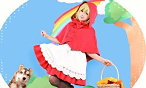 Vocaloid GUMI CHC little red riding hood Cosplay Costume
