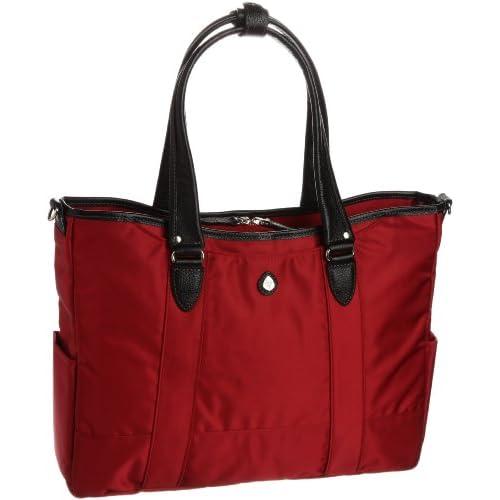 [ウルティマ トウキョウ] ultima tokyo varietas ルーカス 多機能ビジネストートバッグ(ジャケット押さえバンド付き・折り畳み傘ポケット付き・A4サイズ) 45092 10 (レッド)