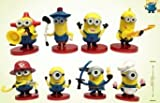 Cattivissimo Me Despicable Me 2 Minion Collection Action Figure Playsets of 8