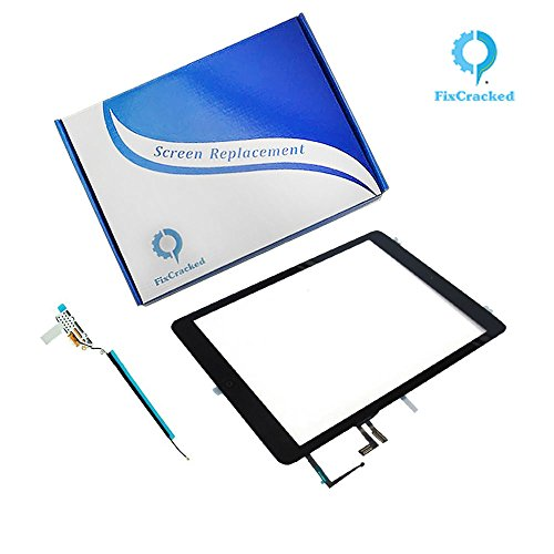 New iPad air Screen replacement,iPad air Front Touch Digitizer Assembly Replacement include Home But...