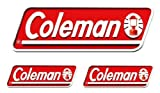 コールマン オフィシャルステッカー 3PCS 2000010524