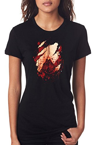 GILDAN -  T-shirt - Donna Nero  nero