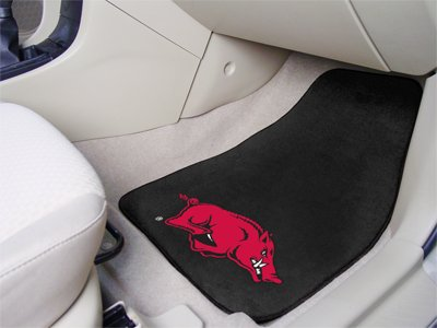 Arkansas Razorbacks universal fit Carpet 2 Pc Car Floor Mat (Rug) at Amazon.com