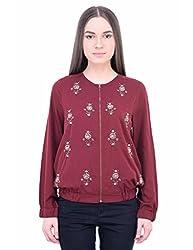 Oxolloxo Women designer bomber jacket