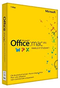 Office Mac Home Student 2011
