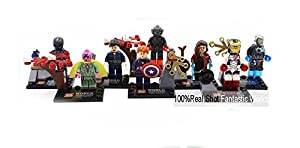 Sy275 Marvel the Avengers 2 Age of Ultron Action Figures Ultron Captain America Ironman Scarlet Witch Vision Action Figure