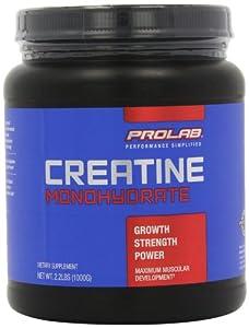 Prolab Creatine Monohydrate Powder,(1000g)2.2 lbs