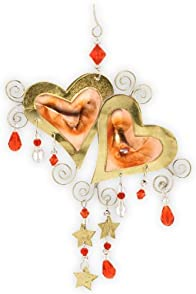 Pilgrim Imports Luv U Heart Fair Trade Ornament