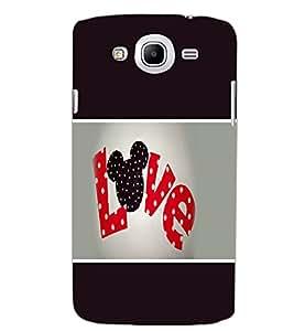 SAMSUNG GALAXY MEGA 5.8 LOVE Back Cover by PRINTSWAG