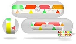 Triangles Citrus Decal Style Skin - fits Beats Pill Plus (BEATS PILL NOT INCLUDED)
