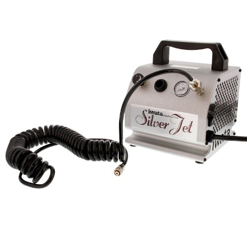 Iwata-Medea Studio Series Silver Jet Single Piston Air Compressor [Toy]