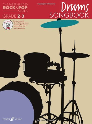 the-faber-graded-rock-pop-series-drums-songbook-grades-2-3-with-free-audio-cd