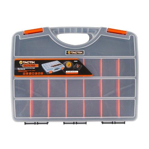 Tactix 320018 Tool Organizer, 30cm, Black/Orange (Toolbox Dividers compare prices)