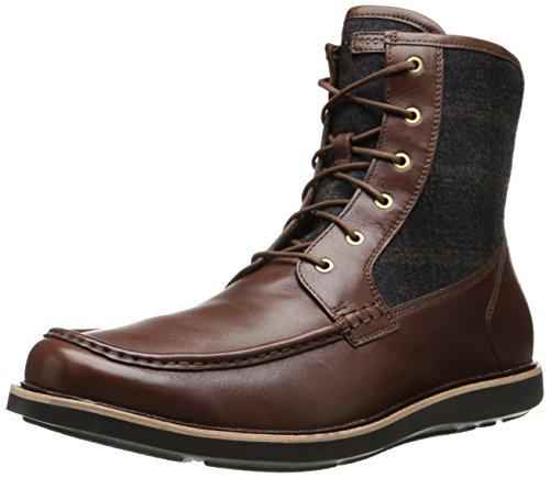 Rockport Men's Eastern Parkway Casual HI Winter Boot,Juniper/Brown Plaid,11 M US