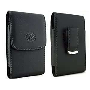For Samsung Galaxy Core Prime SM-G3606 Belt Clip Holster Case [Vertical Leather] Carrying Pouch Cover [Magnetic...