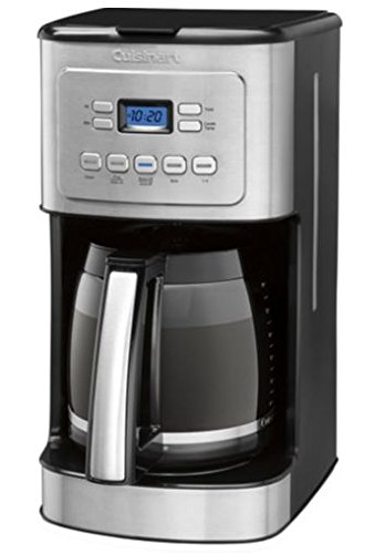 Programmable Coffee Maker Stainless Steel Carafe : Cuisinart 14-Cup Stainless Steel Coffeemaker Machine Brew Automatic Central Programmable Glass ...