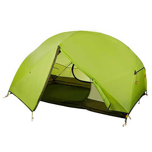 Leapair 2 Person Backpacking Tent Waterproof Lightweight 4 Season for Mountaineering Camping Hinking Traveling