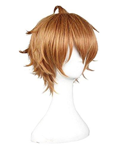 [Anogol Hair Cap+ Shokugeki no Soma Isshiki satoshi Cosplay Wig DM-515] (Wigs Au)