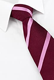 Savile Row Inspired Pure Silk Bold Striped Tie