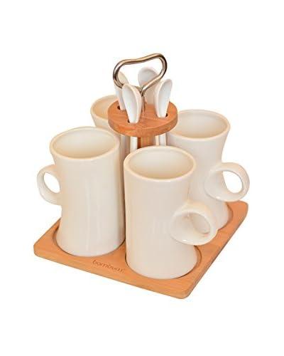 Bambum Kit de Desayuno 9 Piezas Pcs B2673 Beige