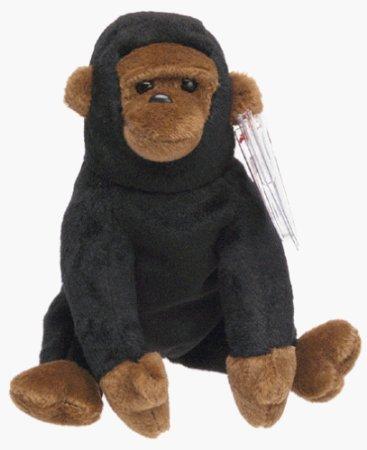 TY Beanie Baby - CONGO the Gorilla - 1