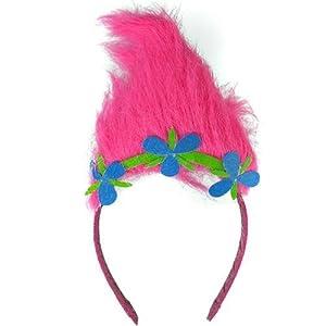 Trolls Sugar Glitter Headband with Troll hair from Trolls