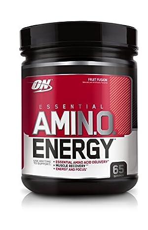 Optimum Nutrition Amino Energy, Fruit Fusion, 65 Servings