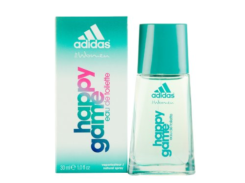 adidas Happy Game 30 ml Eau de Toilette Spray fÃ1/4r Sie, 1er Pack (1 x 30 ml)