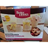 Better Homes And Gardens Set Of Three Cinnamon Apple Pie Scented Candles