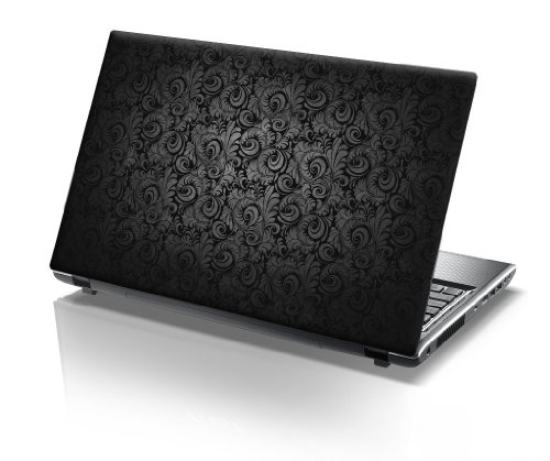 TaylorHe 15.6 inch 15 inch Laptop Skin Vinyl Decal with Colorful Patterns and Leather Effect Laminate MADE IN BRITAIN Vintage Paisley Patterns