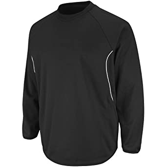 Majestic Athletic Majestic Youth Therma Base Tech Fleece Pullovers Small Black