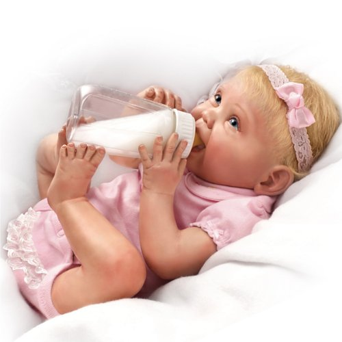 Bonnie Chyle Tippy Toes Collectible Lifelike Baby Girl Doll: So Truly Real by Ashton Drake