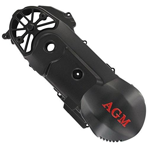 """XFight parts gehaeusedeckel gauche-noir avec belueftung 2Takt 50ccm 1E40QMB 12 """""""