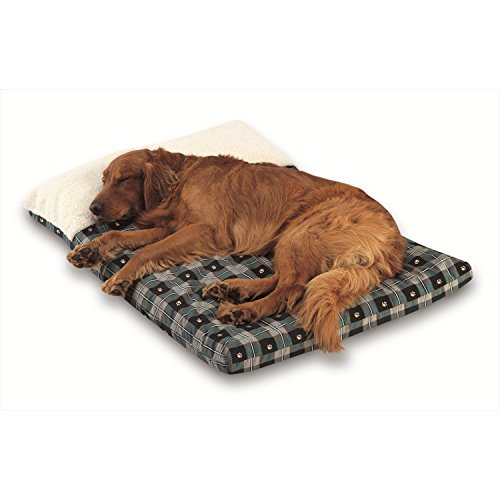 ultimate-dog-pillow-color-teal-paw-plaid-size-extra-large-54-l-x-34-w