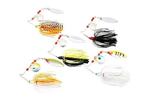 Generic 5 Fishing Lure Spinner Bait 13g