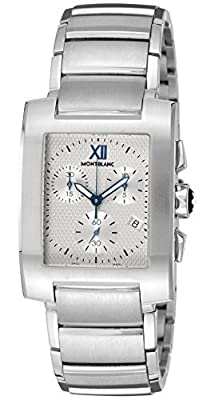 [Mont Blanc] MONTBLANC watch PROFILE silver dial chronograph 101,561 Men's parallel import goods]