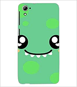 PrintDhaba Cartoon D-4225 Back Case Cover for HTC DESIRE 826 (Multi-Coloured)