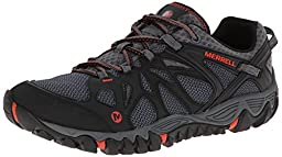 Merrell Men\'s All Out Blaze Aero Sport Hiking Water Shoe, Black/Red, 9.5 M US