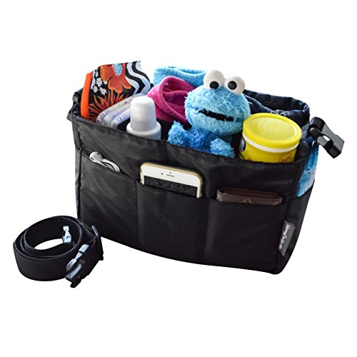 diaper-bag-insert-organizer-for-stylish-moms-black-more-color-options-available-12-pockets-turn-your