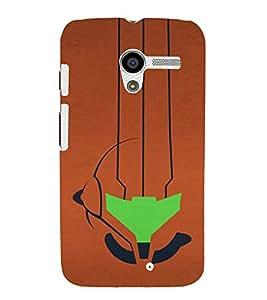 EPICCASE abstract art Mobile Back Case Cover For Moto X (Designer Case)