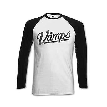 The Vamps Official Team Vamps McVey Baseball Shirt (Jersey) (Medium)