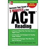 ACT Reading: Increase Your Score in 3 Minutes a Day (Increase Your Score) (Paperback) - Common