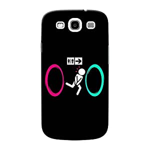 Mobile Back Cover For Samsung I9300 Galaxy S3 (Printed Designer Case)
