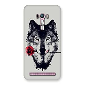 Rose Wolf Multicolor Back Case Cover for Zenfone Selfie