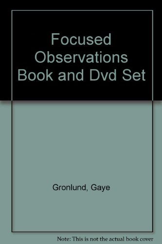 Focused Observations Book and Dvd Set