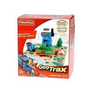 GeoTrax Transportation System Train Lumber Yard