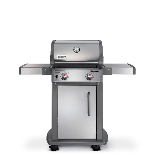 Weber 46100001 Spirit S210 Liquid Propane Gas Grill, Stainless Steel
